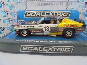Scalextric C3728 Ford Mustang Boss 302 1969 #18 DPR BNIB