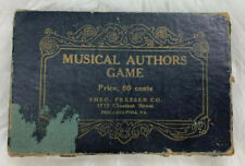Theodore Presser Company Musical Authors Game Educational Vintage