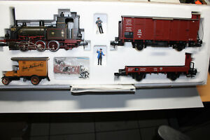 Märklin 5501 Train Set Freight Train With Steam Locomotive T3 Kpev Gauge 1 Boxed