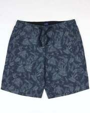 GANT Gant Relaxed Printed Shorts in Navy Blue, floral print, casual beach shorts