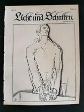 1913 Licht und Schatten 32 Willi Geiger Käthe Kollwitz Henri de Toulouse-Lautrec