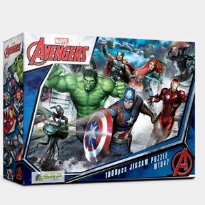 "Jigsaw Puzzles 1000 Pieces ""Avengers Heros"" / Marvel / M1047 / Iron Man Thor"
