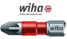 1x Wiha Maxxtor PZ3 (POZI 3) - 29mm Long Impact Driver Screw Bit 36817 FREE P&P