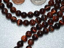 Red Tiger Eye Handmade Mala Beads Necklace - Energized Karma Nirvana Meditation