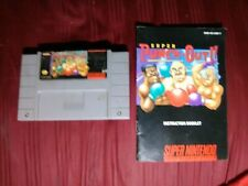 Snes super punch out With Manual