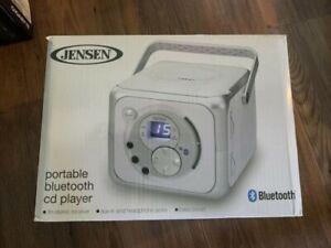 jensen portable bluetooth cd player