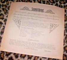 HELP YOURSELF ~ STRANGE AFFAIR. *RECORD ONLY*. Orig UK 1972 vinyl LP. M.