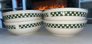 Retro Homer Laughlin Restaurant Ware Cereal Bowls