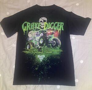 Grave Digger Racing Team Size Small T Shirt Monster Jam