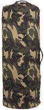 "CAMO Cotton Canv Side Zipper Travel Luggage Carry Duffle Bag 25"" x 42"" 3689 #1"