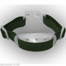 Safety Construction CERT Green Hard Hat Chin Strap Cup