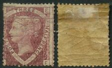 GB QV 1870 THREE HALFPENCE...EF...Spacefiller MINT SG51 Plate 3...cv £400