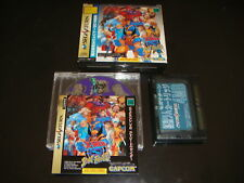 X-Men VS Street Fighter RAM Pack Sega Saturn Japan