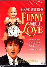 FUNNY ABOUT LOVE * GENE WILDER CHRISTINE LAHTI * NEW & SEALED DVD