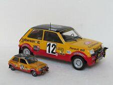 Renault 5 Alpine Calberson Rally Monte Carlo 1978 no 12 Frequelin 1/18! very rar