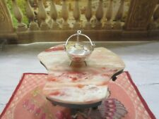 H. HOOIJKAAS STERLING SILVER MINIATURE LIDDED POT WITH FEET AND CHAIN 835 HOLLAN