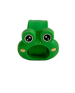 Green Frog Slap On Strap with Watch Case Cute for Kids
