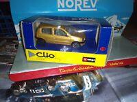 BURAGO 1/43 CLIO BRONZE NEUF EN BOITE