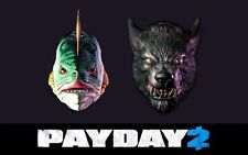 PAYDAY 2 Humble Bundle Mask Pack #2 (Halloween Masks)[Steam Key Digital Product]
