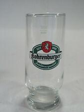 Fohrenburger Glass Mug Cup .25L Barware Beer Seit 1881 Austria