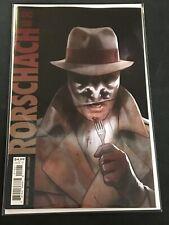 Rorschach #12 B Cover Dc Black Label 2021 Vf/Nm Comics Book