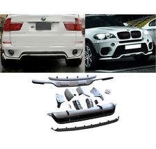 KIT COMPLET AVANT ARRIERE AERO BMW X5 E70 LCI PHASE 2 EN ABS DE 07/2010 A 2013