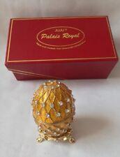 Juju Palais Royal Collectable Egg Swarovski Crystal Elements With Box