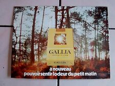ancien support publicitaire-cadre tôle litho cigarettes gallia-caporal-tabac