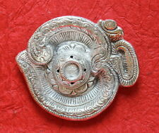 Vintage Metallic Oxidised Om Incense Stick Holder (Agarbatti Stand)