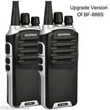 Baofeng BF-888S Plus UHF Walkie Talkie Long Distance Range Communication Radios