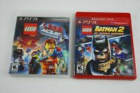 PlayStation 3 PS3 Game Lot Bundle of 2 Games Lego Batman 2 The Lego Movie