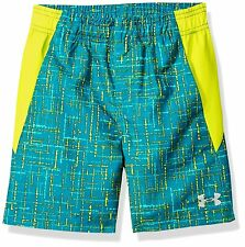 0b39c2c601 Under Armour Big Boys Micro Techno Volley Board Shorts Size YLG Cruise Blue