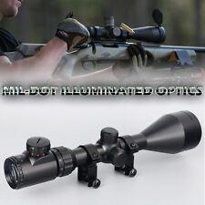 3-9X56EG Rangefinder Mil-Dot Reticle Illuminated Riflescope with Mount Hunting