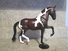 Custom Painted Breyer Horse Traditional Bay Pinto Dressage OOAK