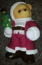 LARGE 1998 ENESCO Priscilla Hillman Cherished Teddies Bear Christmas Light ~RARE