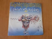 """7"""" IRON MAIDEN - CAN I PLAY WITH MADNESS / BLACK BART BLUES 1988"""