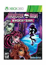 Monster High New Ghoul in School - Xbox 360 Free Shipping