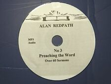 ALAN REDPATH, no. 3,   1 CD of over 60 Sermons MP3