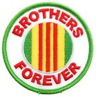 Vietnam Service Ribbon Green Red Yellow Brothers Forever Patch PW F1D2I