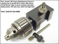 "CNC LATHER QUICK CHANGE USA ALORIS CA-19 ADJUSTABLE KNURLING HOLDER 2/"" MAX"