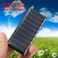5V 0.5W 100mAh Mini Solar Panel Module  DIY For Light Battery Cell Charger Toy