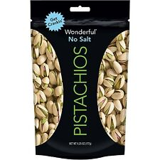 Wonderful Pistachios No Salt 6.25 oz Buy for only $8.99 FREE SHIPPING