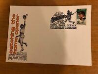 San Diego Padres 1990 Home Opener Postal Cover - Lou Gehrig Stamp