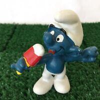 Smurfs Ice Lolly Smurf 20053 Ice Cream Vintage 1979 Toy Figure Schleich Peyo