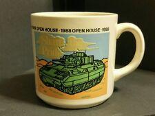Coffee Mug FMC 1988 Open House Share The Pride Military Tank Vintage Coffee Mug