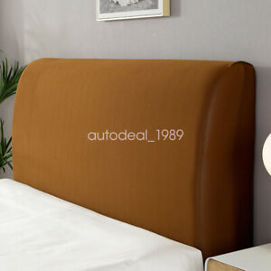 Comfortable Headboard Slipcover Protector Stretch Solid Color Dustproof Cover