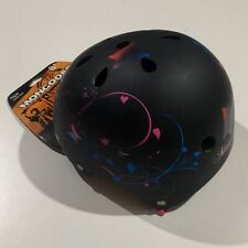Mongoose Filagree Youth Street black Helmet girls butterfly new protective