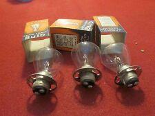 1935-1936-1937 Packard THREE Headlight Bulbs: #2330:..(1938-1939-1940?)