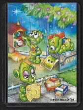 Jouet kinder puzzle 2D Super Spacys 611425 Allemagne 2001 + étui +BPZ