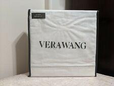 Vera Wang Grand Lit Queen Sheet Set White